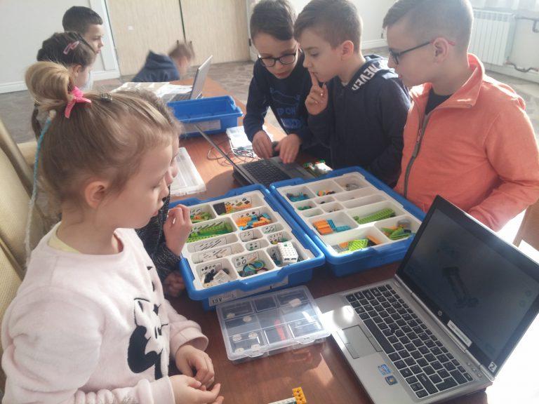Robotyka dla dzieci w DK Wolbrom