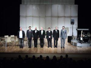 """Spektakl """"Testosteron"""" Teatru Bagatela na scenie DK Wolbrom"""