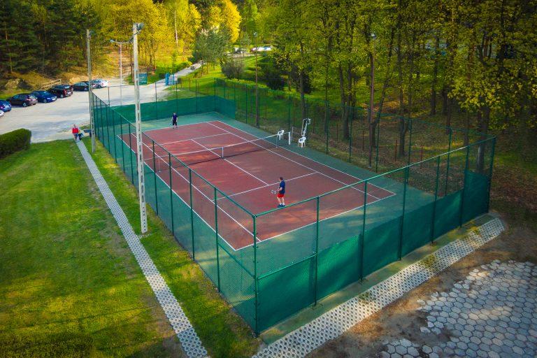 Sekcja: Zasady rezerwacji kortu tenisowego