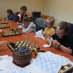 Wakacyjne warsztaty szachowe.