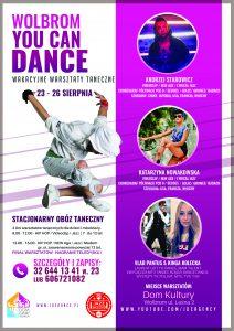 Wakacyjne warsztaty taneczne WOLBROM YOU CAN DANCE