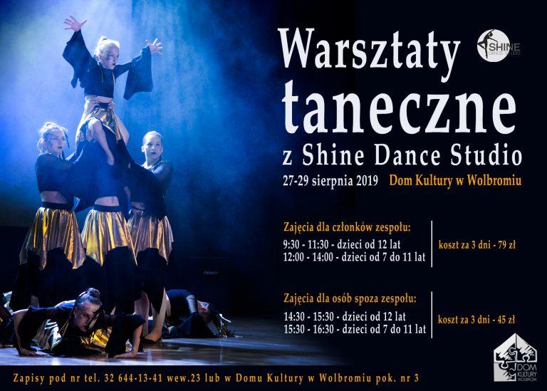 Warsztaty taneczne z Shine Dance Studio
