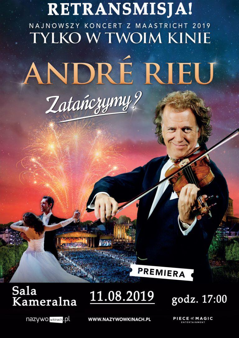 """""""Zatańczymy?"""" Retransmisja koncertu André Rieu"""