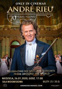 Retransmisja koncertu: André Rieu, czyli 70 lat młodości