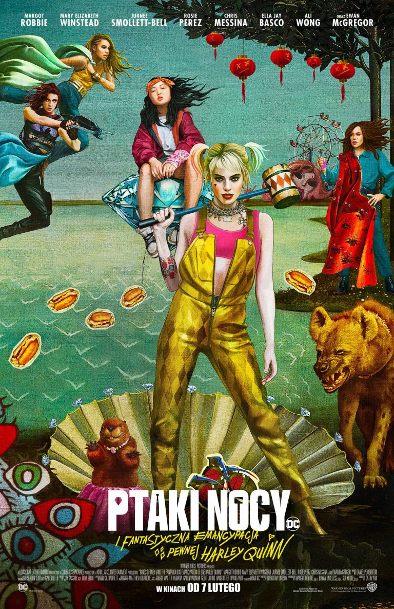 Ptaki nocy (i fantastyczna emancypacja pewnej Harley Quinn) 2D NAP