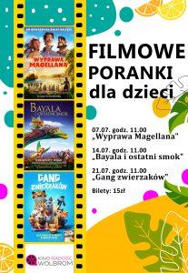 Filmowe Poranki dla dzieci