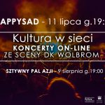 Koncerty w DK Wolbrom – 11 lipca HAPPYSAD