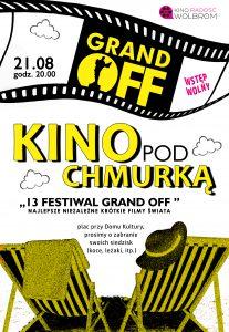 Kino pod chmurką – 13. Festiwal GRAND OFF