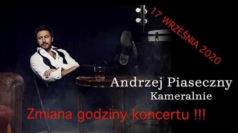 Koncert Piaska na dwie tury