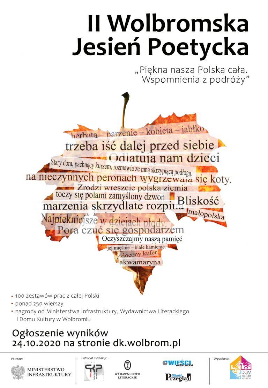 Wyniki II Wolbromskiej Jesieni Poetyckiej