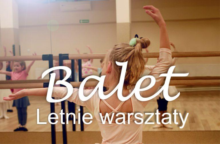 Balet – warsztaty dla dzieci