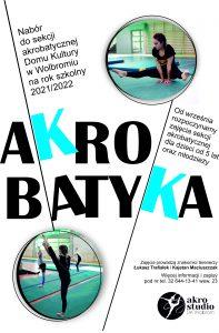 AKROBATYKA – nabór na rok szkolny 2021/2022