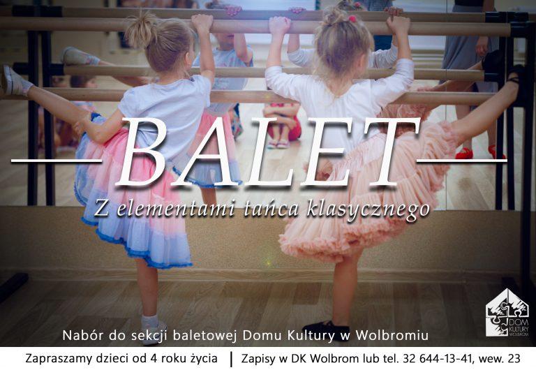Nabór do sekcji baletowej Domu Kultury w Wolbromiu
