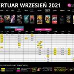 Repertuar na WRZESIEŃ 2021