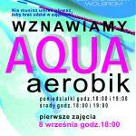 Aqua aerobik – wznawiamy zajęcia