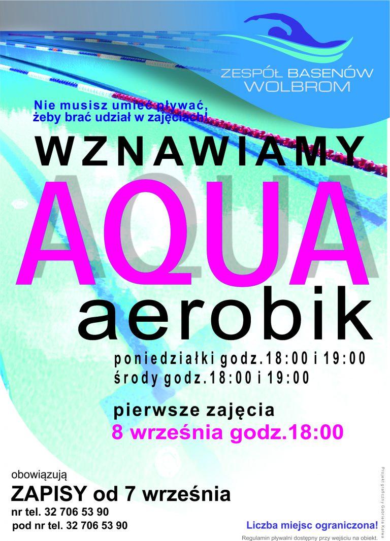Sekcja: Aqua aerobik - wznawiamy zajęcia